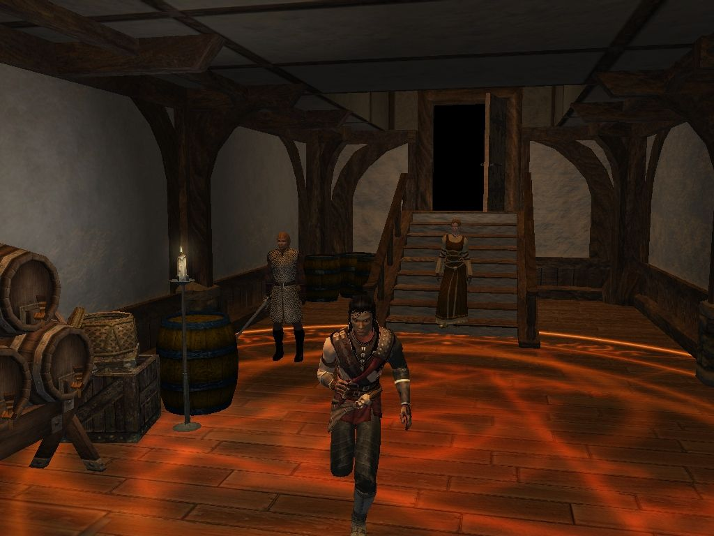 Description: new screenshots of neverwinter nights, the 3d role-playing game in development at bioware